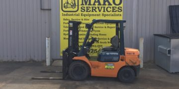 Used 2.5T diesel forklift for sale in Busselton