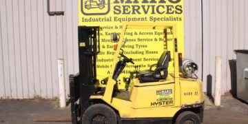 Used 2.5T Hyster forklift for sale in Busselton