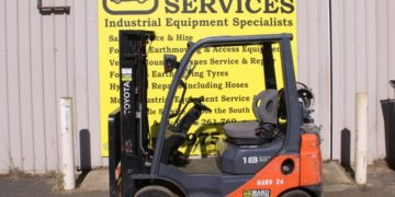used 1.8t toyota forklift for sale in busselton