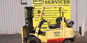 used hyster 2.5t forklift for sale in busselton